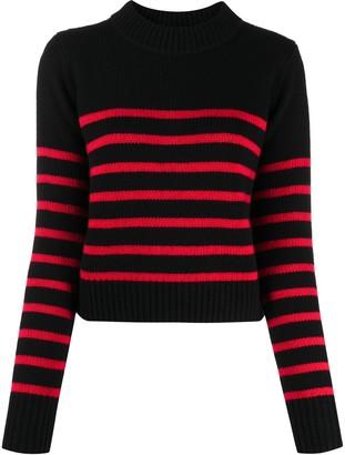 Woolrich Striped Long Sleeve Knit Jumper