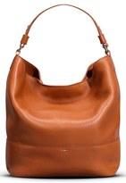 Shinola Relaxed Leather Hobo Bag - Brown