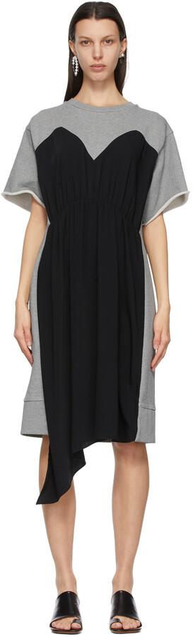 MM6 MAISON MARGIELA Grey Overlay Dress