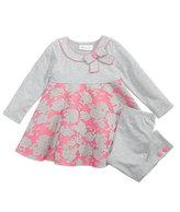 Bonnie Jean 2-Pc. Air-Mesh A-Line Tunic & Leggings Set, Little Girls (4-6X)