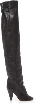 Isabel Marant Lacine Leather Boots Size: 41