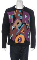 Salvatore Ferragamo Logo Neoprene Sweatshirt
