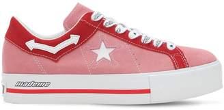 Converse X Mademe Mademe One Star Platform Sneakers