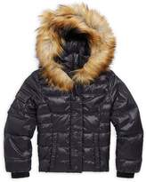 S13/Nyc S 13/NYC Little Girl's Faux Fur-Trimmed Puffer Jacket