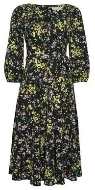 Dorothy Perkins Womens **Billie & Blossom Black Floral Print V