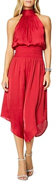 Ramy Brook Bella Blouson Midi Dress