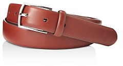 Polo Ralph Lauren Polo-Plaque Calfskin Belt