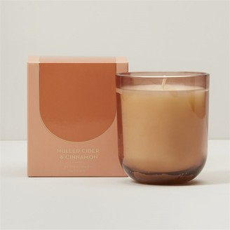 Indigo Scents Poured Glass Candle Mulled Cider And Cinnamon