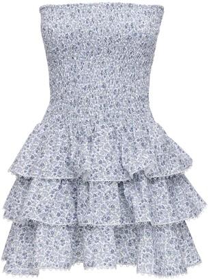 Cc By Camilla Cappelli Kerima Strapless Cotton Mini Dress