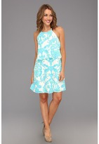 Lilly Pulitzer Whistler Dress (Resort White Gold Digger) - Apparel