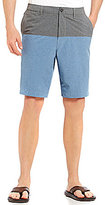 Tommy Bahama Cayman Block And Roll Color Block Hybrid Shorts