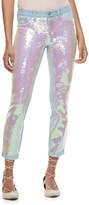 Candies Candie's Juniors' Candie's® Sequin Skinny Jeans