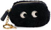 Anya Hindmarch Eyes coin purse - women - Sheep Skin/Shearling - One Size