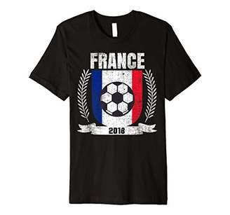 French 2018 Football France Soccer Fan Jersey T-Shirt