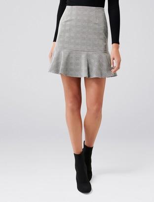 Ever New Lina Flippy Ponte Mini Skirt