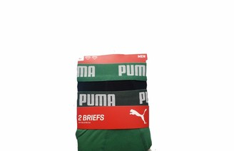 Puma Men's Basic Briefs (2 Pack) Boxer