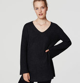 LOFT Bell Sleeve Tunic Sweater