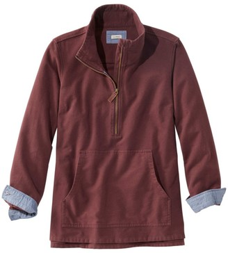 L.L. Bean Women's Heritage Chamois Shirt, Zip Pullover