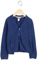 Bonpoint Boys' Long Sleeve V-Neck Cardigan