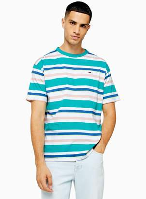 Tommy Jeans TopmanTopman Multicoloured Stripe T-Shirt