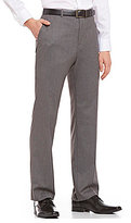 Calvin Klein Straight-Fit Flat-Front Cool Tech Twill Pants