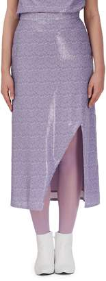 Olivia Rubin Stevie Sequin Midi Pencil Skirt