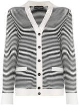 Sonia Rykiel striped button-down cardigan