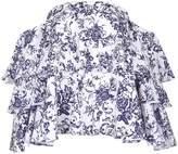 Caroline Constas Carmen Off-Shoulder Floral Top