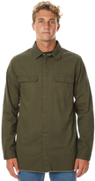 Dr. Denim Max Denim Ls Mens Shirt Green
