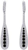 Katarina 10K White Gold 1 1/2 ct. and White Diamond Dangle Earrings