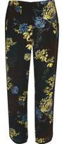 River Island Womens Blue floral print soft pants