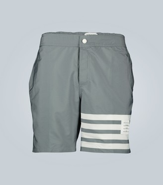Thom Browne 4-Bar swim shorts