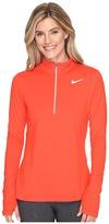 Nike Dri-FIT Element Half Zip Women's Long Sleeve Pullover
