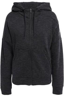 adidas Logo-print Cotton-blend Jersey Hoodie