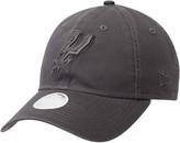 New Era Women's Graphite San Antonio Spurs Tonal Core Classic 9TWENTY Adjustable Hat