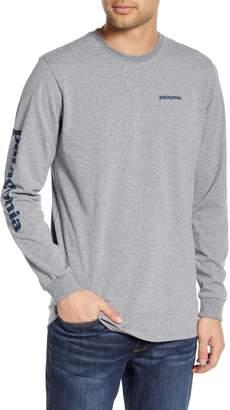 Patagonia Long Sleeve Logo T-Shirt