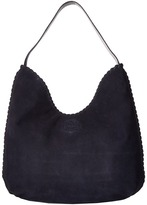 Tory Burch Marion Suede Hobo