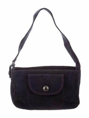 Marc Jacobs Suede Shoulder Bag Blue