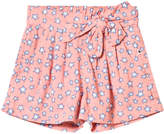 Molo Star Print Akayla Shorts In Pink