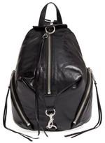 Rebecca Minkoff Medium Julian Leather Backpack - Black