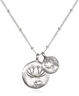 Satya Jewelry Double Lotus Necklace