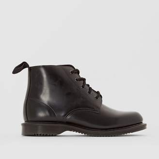 Dr. Martens Emmeline Leather Ankle Boots with Lace-Up Fastening