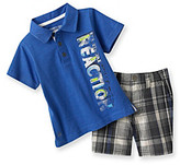 Kenneth Cole Baby Boys' Royal Blue Polo and Shorts Set