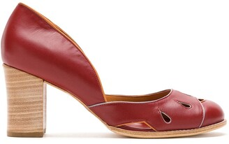 Sarah Chofakian Malee leather pumps