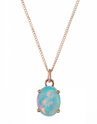 WWAKE Limited Edition Medium Opal Pendant Necklace