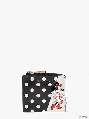 Kate Spade Disney X Minnie Mouse Small Bifold Wallet