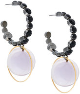 Marni orb drop earrings