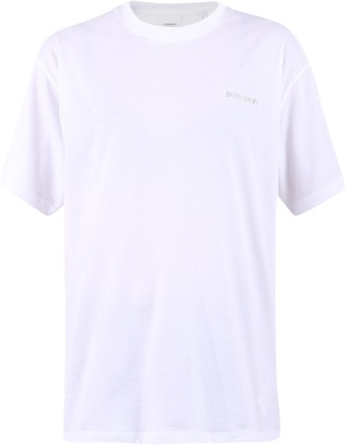 Burberry Crystal Embellished Logo T-Shirt