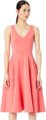 Amazon Brand - TRUTH & FABLE Women's Dress Midi Prom
