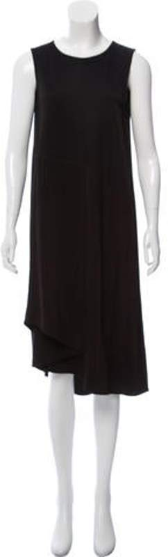 Maison Margiela Sleeveless Midi Dress w/ Tags Black Sleeveless Midi Dress w/ Tags